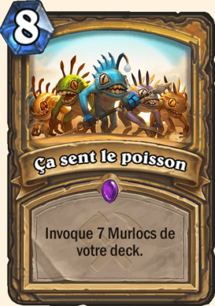Les Aventuriers d'Uldum Tip the Scales carte Hearhstone