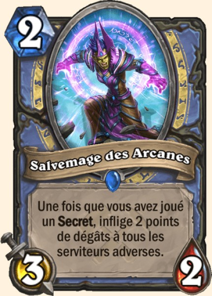 Salvemage des Arcanes carte Hearthstone