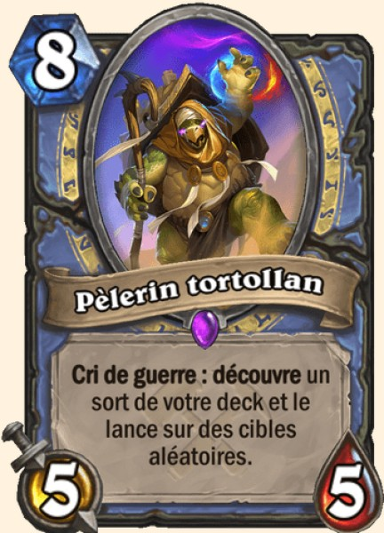 Pèlerin Tortollan carte Hearthstone