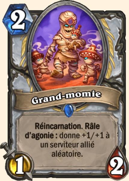Grand-momie carte Hearthstone