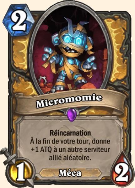 Micromomie carte Hearthstone