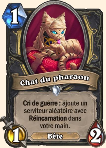 Chat du pharaon carte Hearthstone