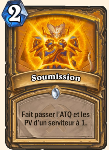 Soumission carte Hearthstone