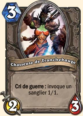 Chasseuse de Tranchebauge - Carte Hearthstone