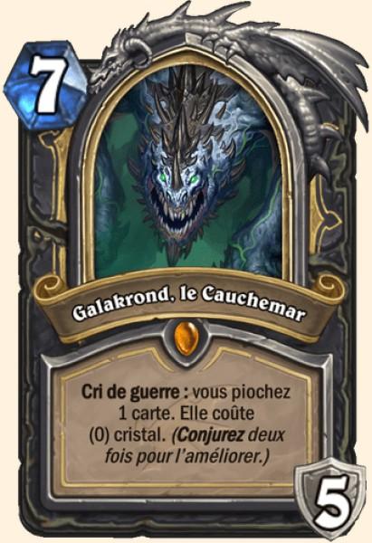 Galakrond, le Cauchemar carte Hearthstone