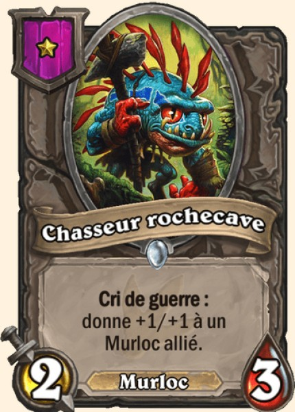 Chasseur rochecave carte Hearthstone