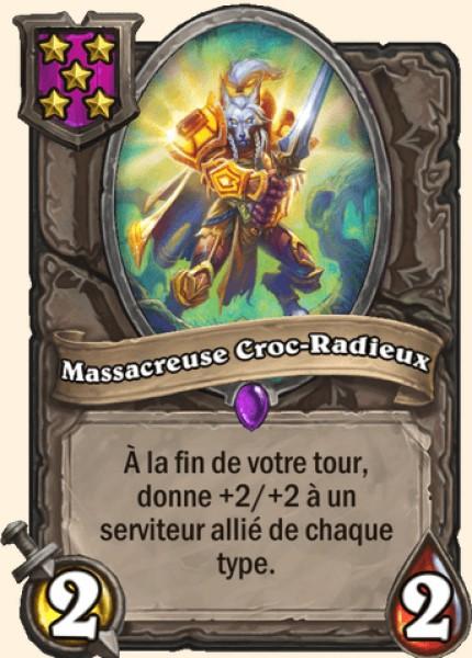 Massacreuse Croc-Radieux carte Hearthstone