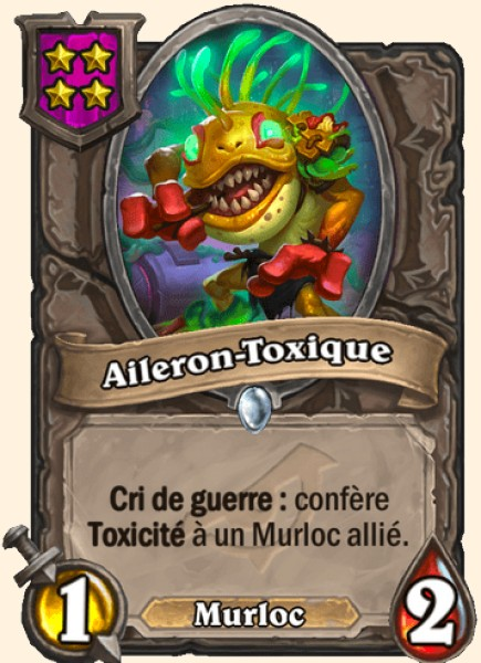 Aileron-toxique carte Hearthstone