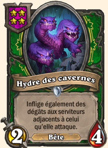 Hydre des cavernes carte Hearthstone