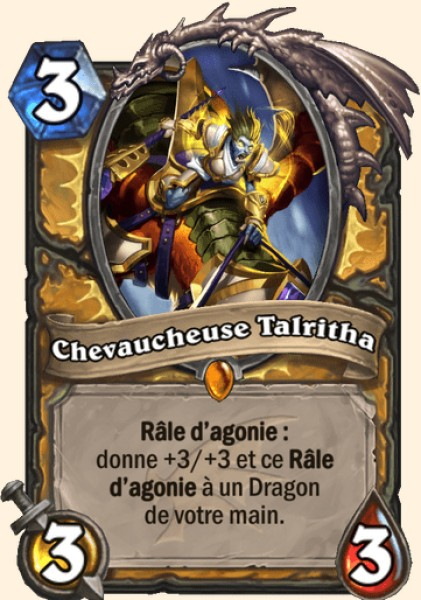 Chevaucheuse Talritha carte Hearthstone