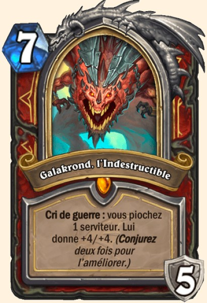 Galakrond, l'indestructible carte Hearthstone
