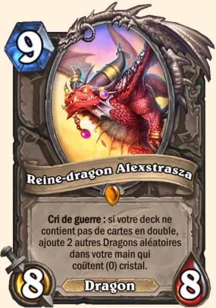 Reine-dragon Alexstrasza carte Hearthstone