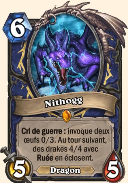 Nithogg carte Hearthstone