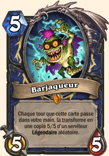 Barjaqueur carte Hearthstone