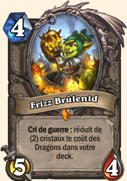 Frizz Brûlenid carte Hearthstone