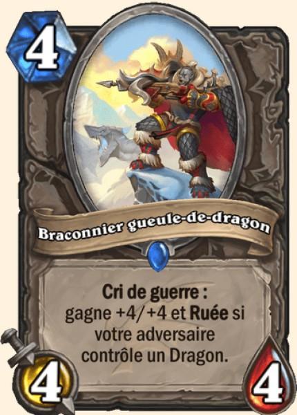 Braconnier gueule-de-dragon carte Hearthstone