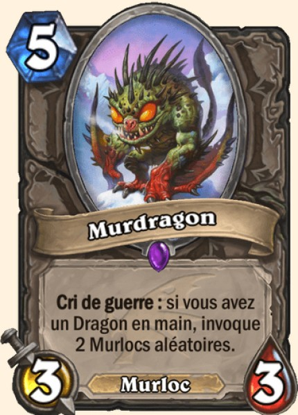 Murdragon carte Hearthstone