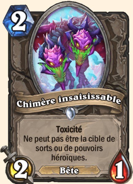 Chimère insaisissable carte Hearthstone