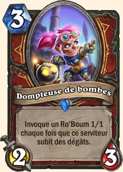 Dompteuse de bombes carte Hearthstone