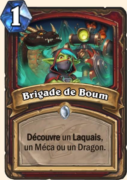 Brigade de Boum carte Hearthstone