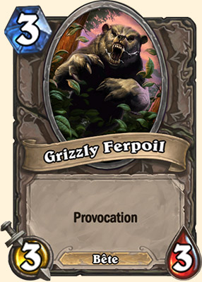 Grizzly Ferpoil carte Hearthstone