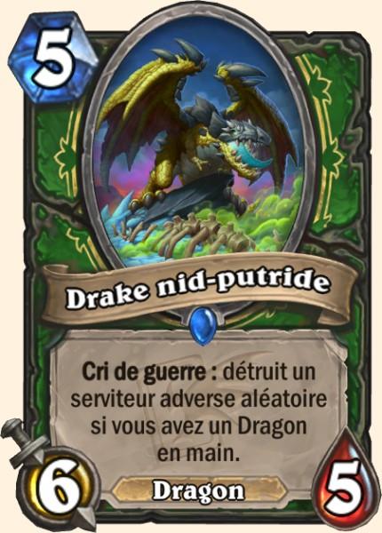 Drake nid-putride carte Hearthstone