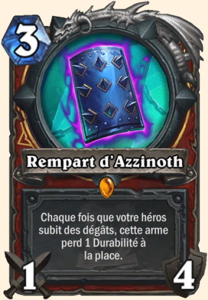 Rempart d'Azzinoth carte Hearthstone