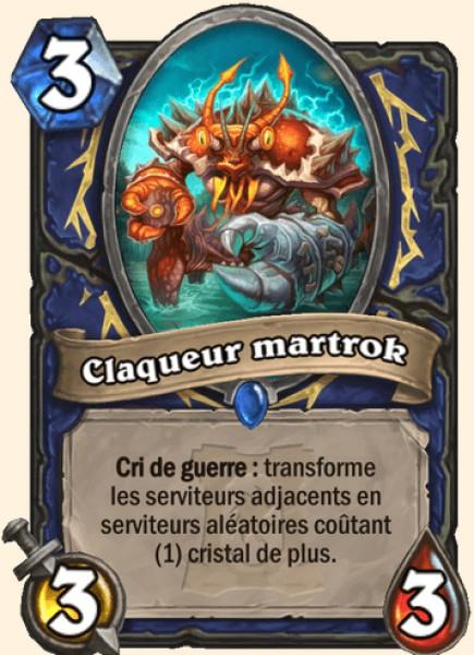 Claqueur martrok carte Hearthstone