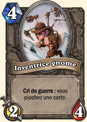 Inventeur gnome - Carte Hearthstone