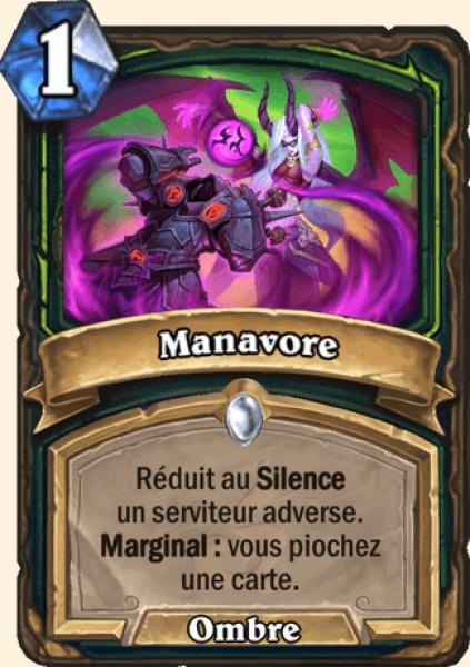 Manavore carte Hearthstone