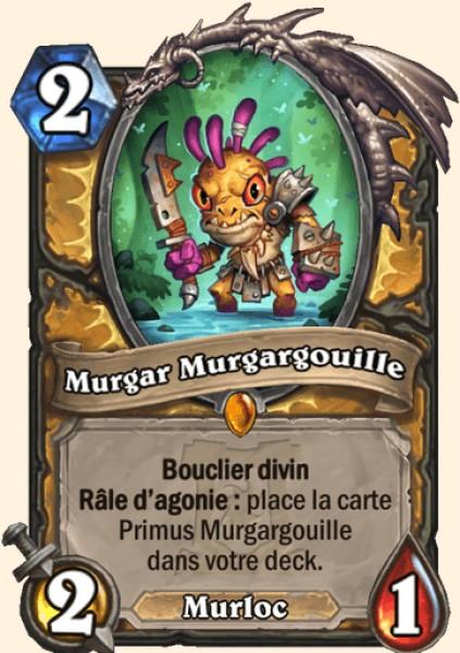 Murgar Murgargouille carte Hearthstone