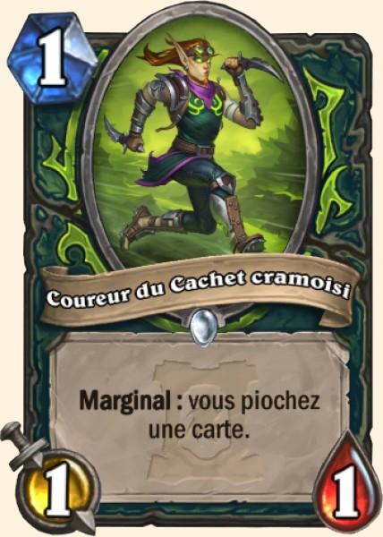 Coureur du Cachet cramoisi carte Hearthstone