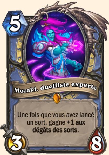 Mozaki, duelliste experte carte Hearthstone