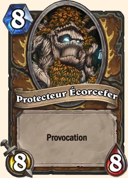 Protecteur Écorcefer carte Hearthstone