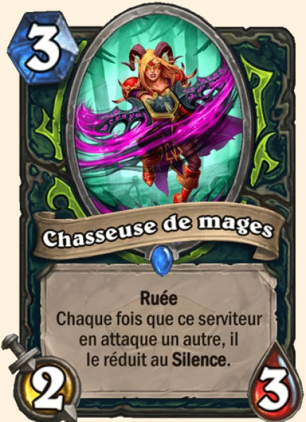Chasseuse de mages carte Hearthstone