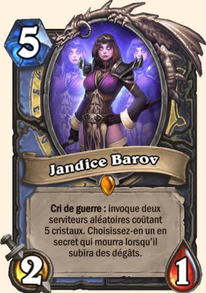 Jandice Barov carte Hearthstone
