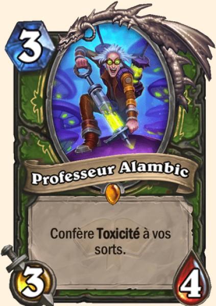 Professeur Alambic carte Hearthstone