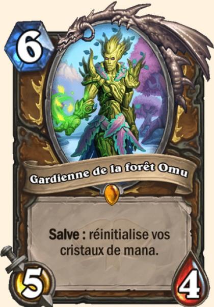 Gardienne de la forêt Omu carte Hearthstone