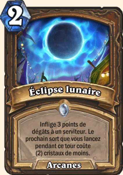 Éclipse lunaire carte Hearthstone