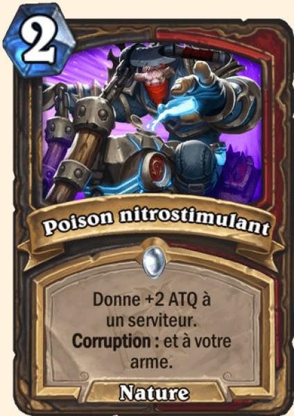 Poison nitrostimulant carte Hearthstone