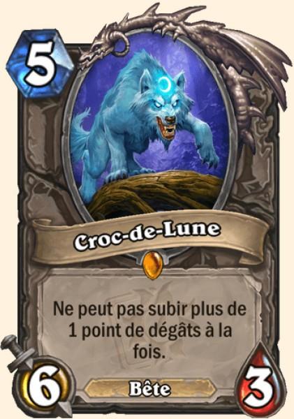 Croc-de-Lune carte Hearthstone