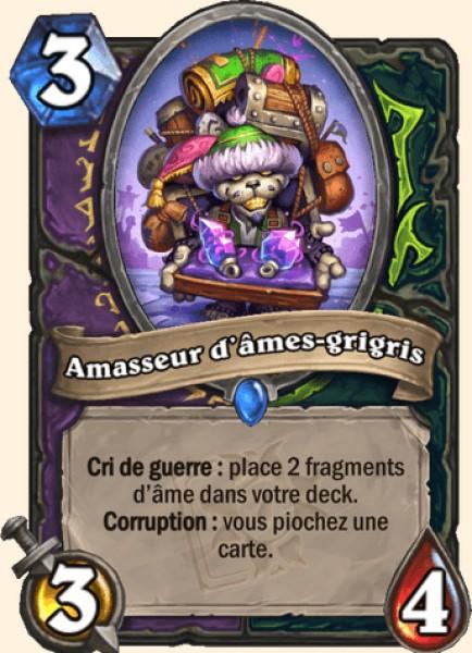 Amasseur d'âmes-grigris carte Hearthstone