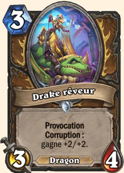 Drake rêveur carte Hearthstone