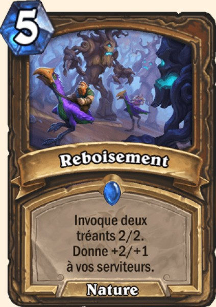 Reboisement carte Hearthstone