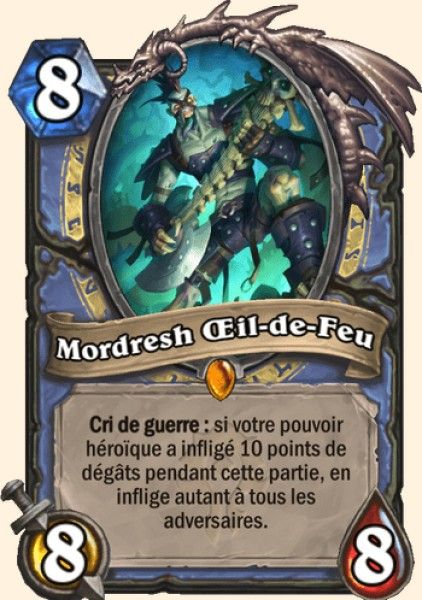Mordresh Œil-de-Feu carte Hearthstone