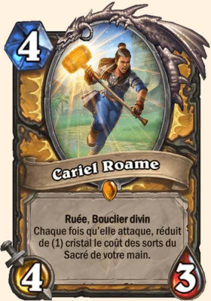 Cariel Roame carte Hearthstone