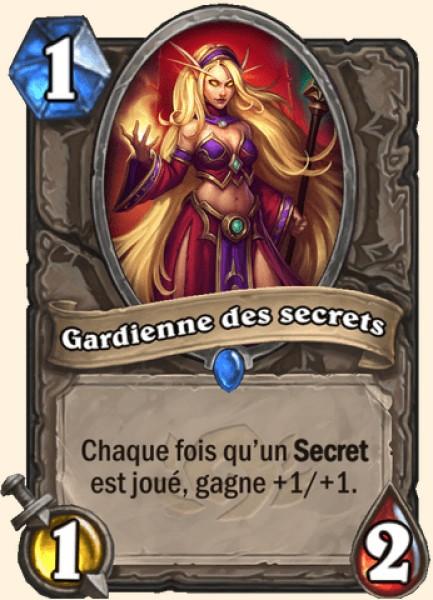 Gardienne des secrets carte Hearthstone