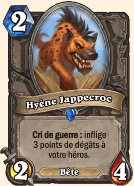 Hyène Jappecroc carte Hearthstone