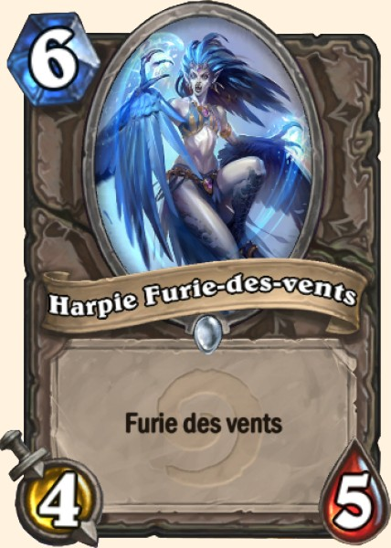 Harpie Furie-des-vents carte Hearthstone