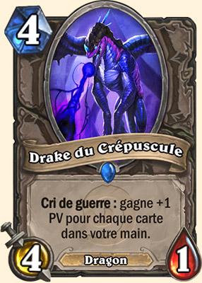 Drake du Crépuscule carte Hearthstone